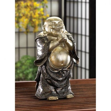 Standing Happy Buddha Figurine