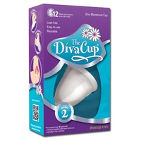 The Diva Cup® Menstrual Cup - 1 Count (Model 2)