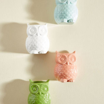 To Owl Appearances Magnetic Vase Set | Mod Retro Vintage Decor Accessories | ModCloth.com