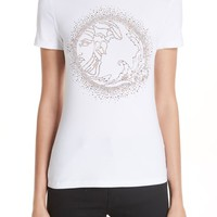 Versace Collection Medusa Crystal Embellished Jersey Tee | Nordstrom