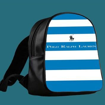 Polo Ralph Lauren Stripes for Backpack / Custom Bag / School Bag / Children Bag / Cust