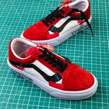 Off White X Vans Vault Og Style 36 Custom Shoes - Sale fcd629ab8