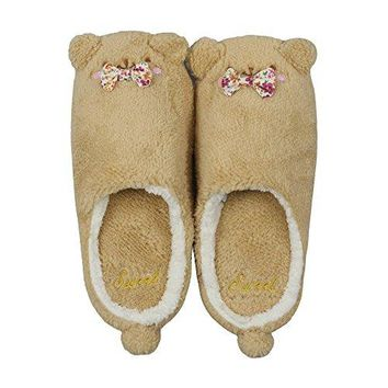 MiYang Winter Cute Cat and Dog Warm House Slippers Booties