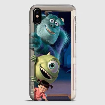 Monsters Inc Quotes iPhone X Case