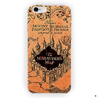 Harry Potter Vintage Map Of Mischief For iPhone 6 / 6 Plus Case