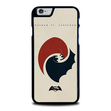 SUPERMAN VS BATMAN YIN YANG iPhone 6 / 6S Case Cover