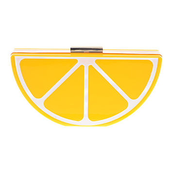 Lemon Slice Clutch