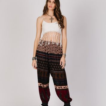 Wild Fire Pant - Red