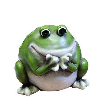 "10"" Frog Statue"
