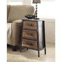 Urban Collection 3 Drawer Chest -4D Concepts