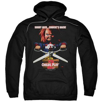Childs Play 2 - Chuckys Back Adult Pull Over Hoodie