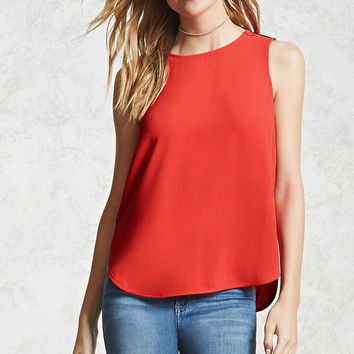 Contemporary Dolphin Hem Top