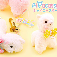 Buy Amuse Alpacasso Alpaca Ribbon Collection Keychain at Tofu Cute