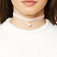 Velvet and Crochet Choker Set