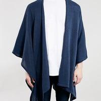 BLUE LIGHTWEIGHT CAPE - New This Week - New In