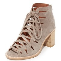 Corwin Lace Up Booties
