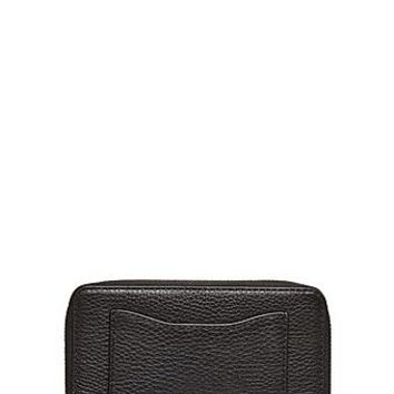 Recruit Leather Zip Phone Wristlet - Marc Jacobs