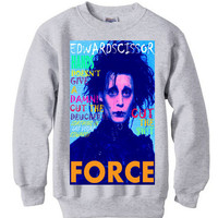Johnny Depp Shirt Edward Scissorhands ugly sweater vintage 80s 90s hipster punk rap rock hip hop funny humor