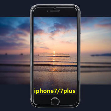 New 3D Nanometer Toughened Glass Screen Protector for iPhone 7 7 Plus & iPhone 6 6s plus & iPhone 5s se + Gift Box