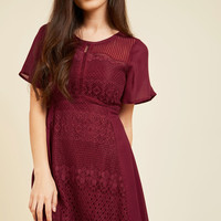 Glee for Details Lace Dress | Mod Retro Vintage Dresses | ModCloth.com