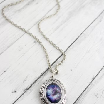 Dainty Galaxy Locket