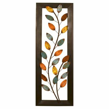 Winding Leaves Panel Wall Decor By Stratton Home Decor