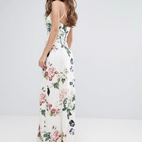 Stylestalker Printed Wrap Maxi Dress at asos.com
