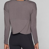 Studio Crop Long Sleeve | Athleta