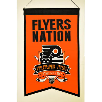 Philadelphia Flyers NHL Nations Banner (15x20)