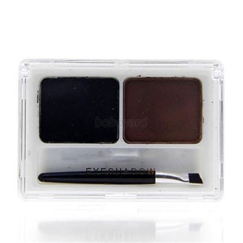 Waterproof Women Eyebrow Powder Eye Brow Shading Palette Beauty Makeup Cosmetic Y57