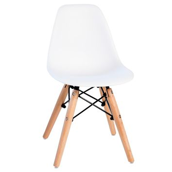 Kids Ethan Desk Chair, Kiddie White