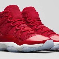 Best Deal Online Nike Air Jordan 11 Retro Win Like 96 Men Basketball Shoes Sport Sneakers