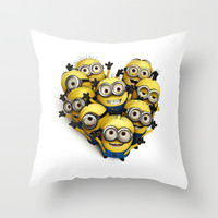 Minions Throw Pillow by thonghj
