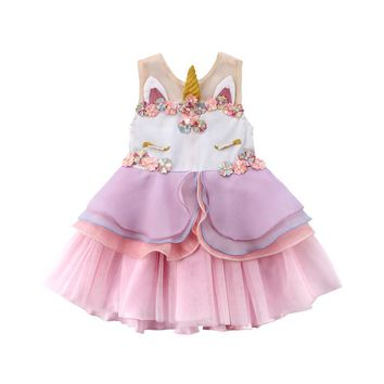 Whimsy Unicorn Dress