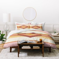 Bianca Green Fiesta Rose Duvet Cover