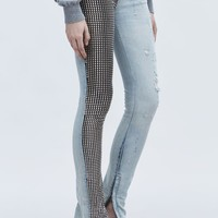 ‎‎Alexander Wang ‎STUDDED PANEL JEAN ‎ ‎PANTS‎ | Official Site