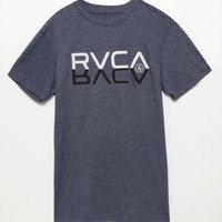 RVCA Reflection T-Shirt - Mens Tee - Grey