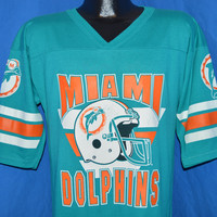 80s Miami Dolphins Jersey t-shirt Medium