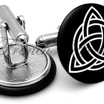 Celtic Triangle Cufflinks