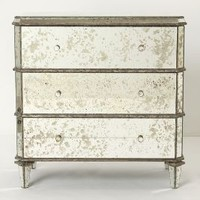 Mirrored Dresser by Anthropologie in Clear Size: One Size Wall Decor