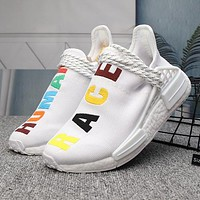 Adidas Pharrell Williams Woman Men Fashion Sneakers Sport Shoes