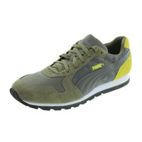 Puma Mens ST Runner Suede Camouflage Running, Cross Training Shoes