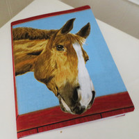 Thoroughbred Horse - notebook/journal.