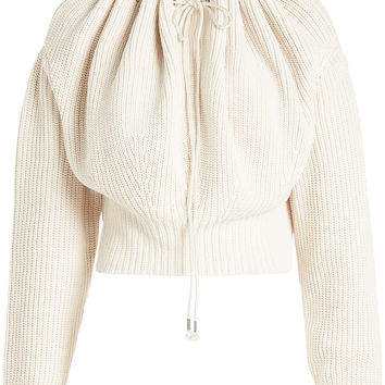 Off-Shoulder Knit Pullover - CALVIN KLEIN 205W39NYC | WOMEN | KR STYLEBOP.COM