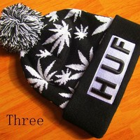 One-nice™ Perfect Huf And Dgk Hiphop Women Men Beanies Winter Knit Hat Cap