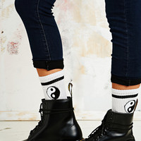 Yin Yang Sports Socks - Urban Outfitters