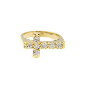 Mister  Crucis Ring - Gold