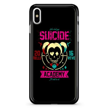 Suicide Academy Harley Quinn iPhone X Case