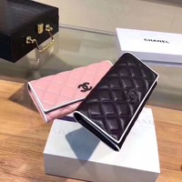CHANEL WOMEN'S NEW STYLE LEATHER WALLET