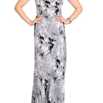 Rising Smoke Maxi Dress